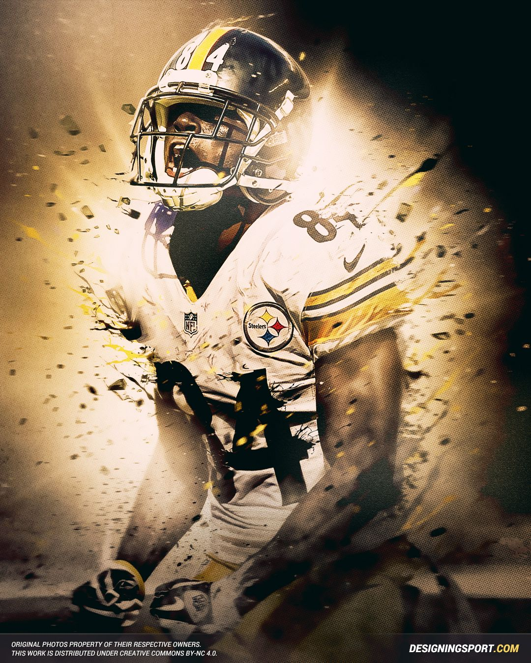Antonio Brown Pittsburgh Steelers Pittsburgh Steelers Football