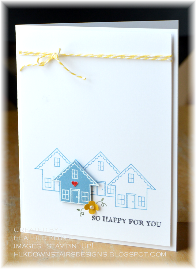 So Happy For You Downstairs Designs New Home Cards Housewarming Card Stamped Cards