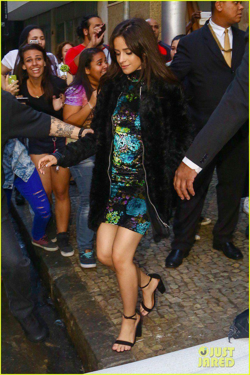 Camila in Rio today (via @justjaredjr) #727TourRio