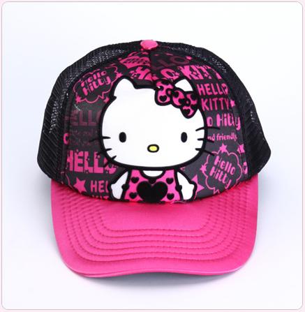 1510d4463 Hello Kitty Graffiti Cartoon Fashionable Baseball Cap   Hello Kitty ...