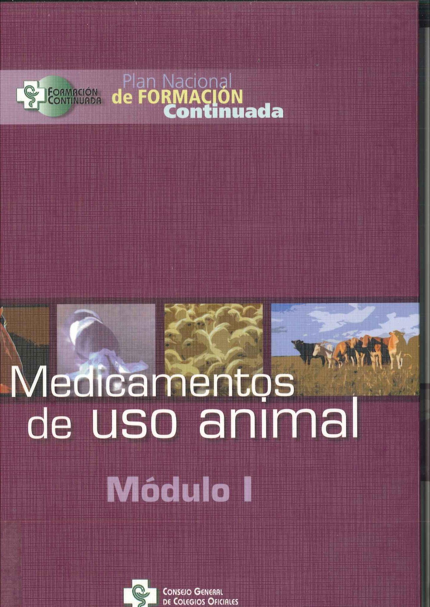 Medicamentos de uso animal. 2003
