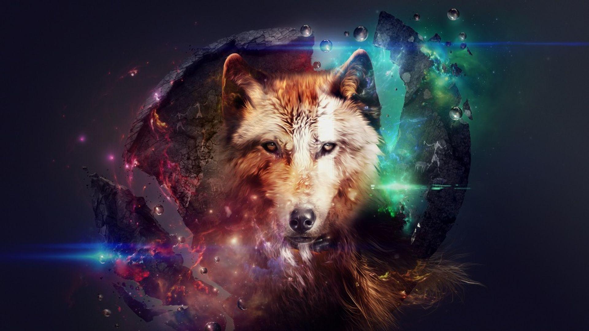 Music Album Abstract Wolf Wolf Wallpaper Wolf Background