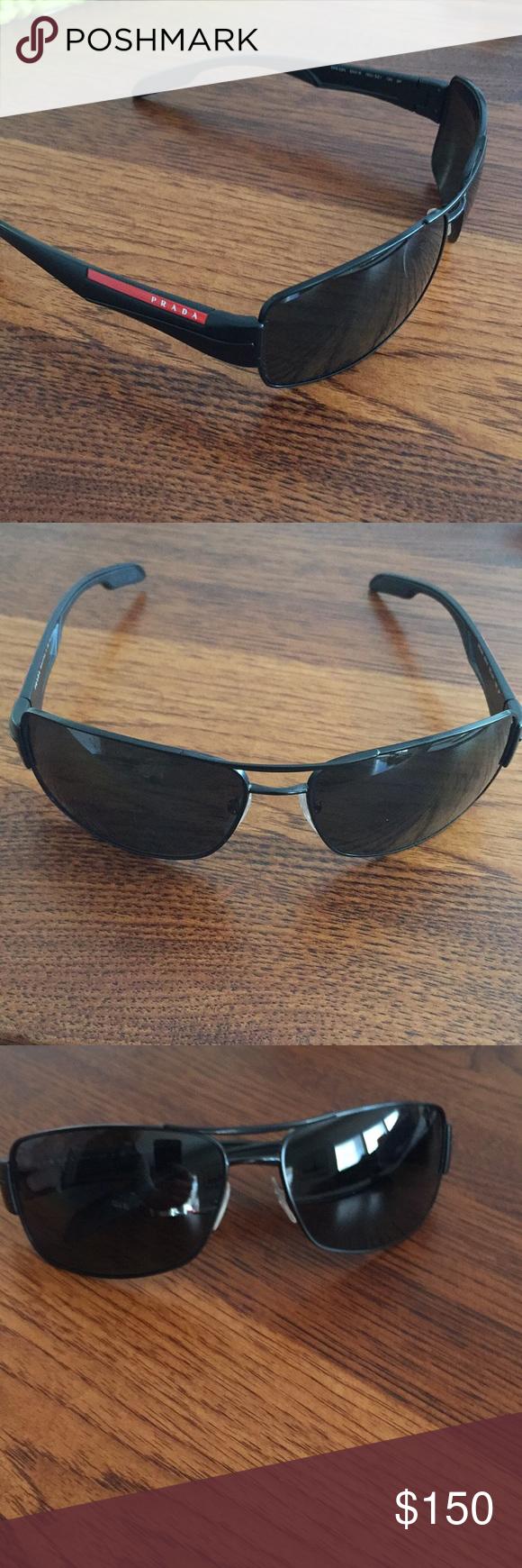 0689860aacd Prada Polarized sunglasses men s. Like new