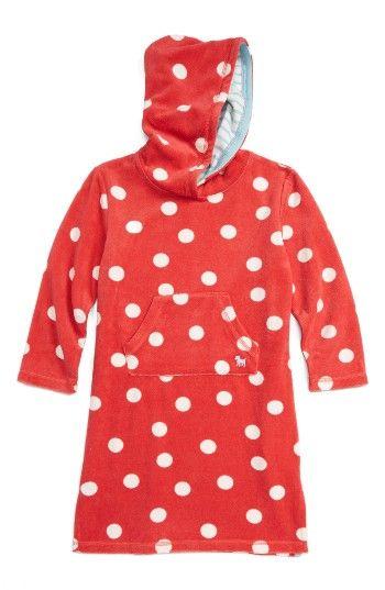 b499aff3ba3 Mini Boden Print Towelling Beach Dress (Toddler Girls