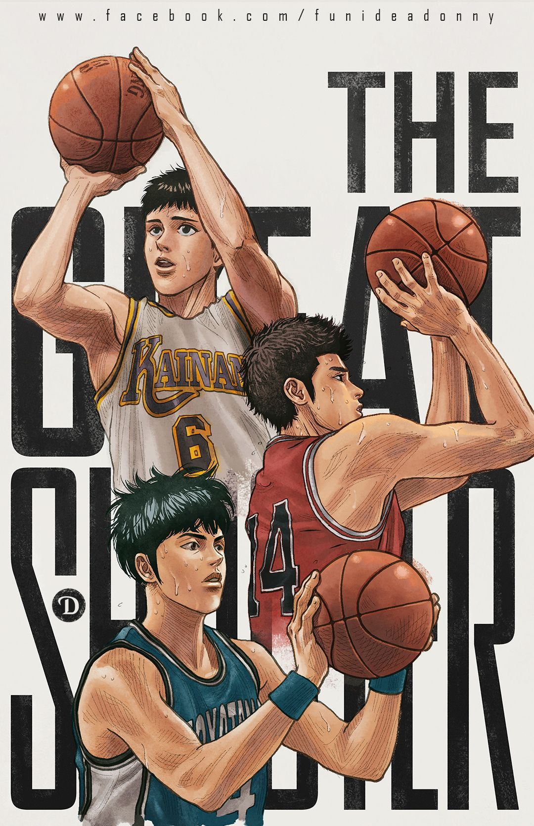 The Great Shooter Slam Dunk Manga Slam Dunk Anime Slam Dunk