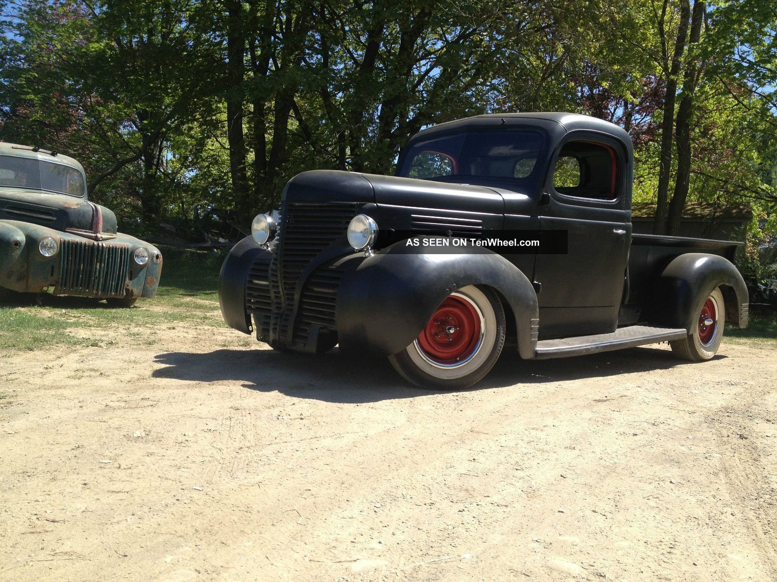 Rat rod mini truck truck click photo to enlarge category cars trucks plymouth other