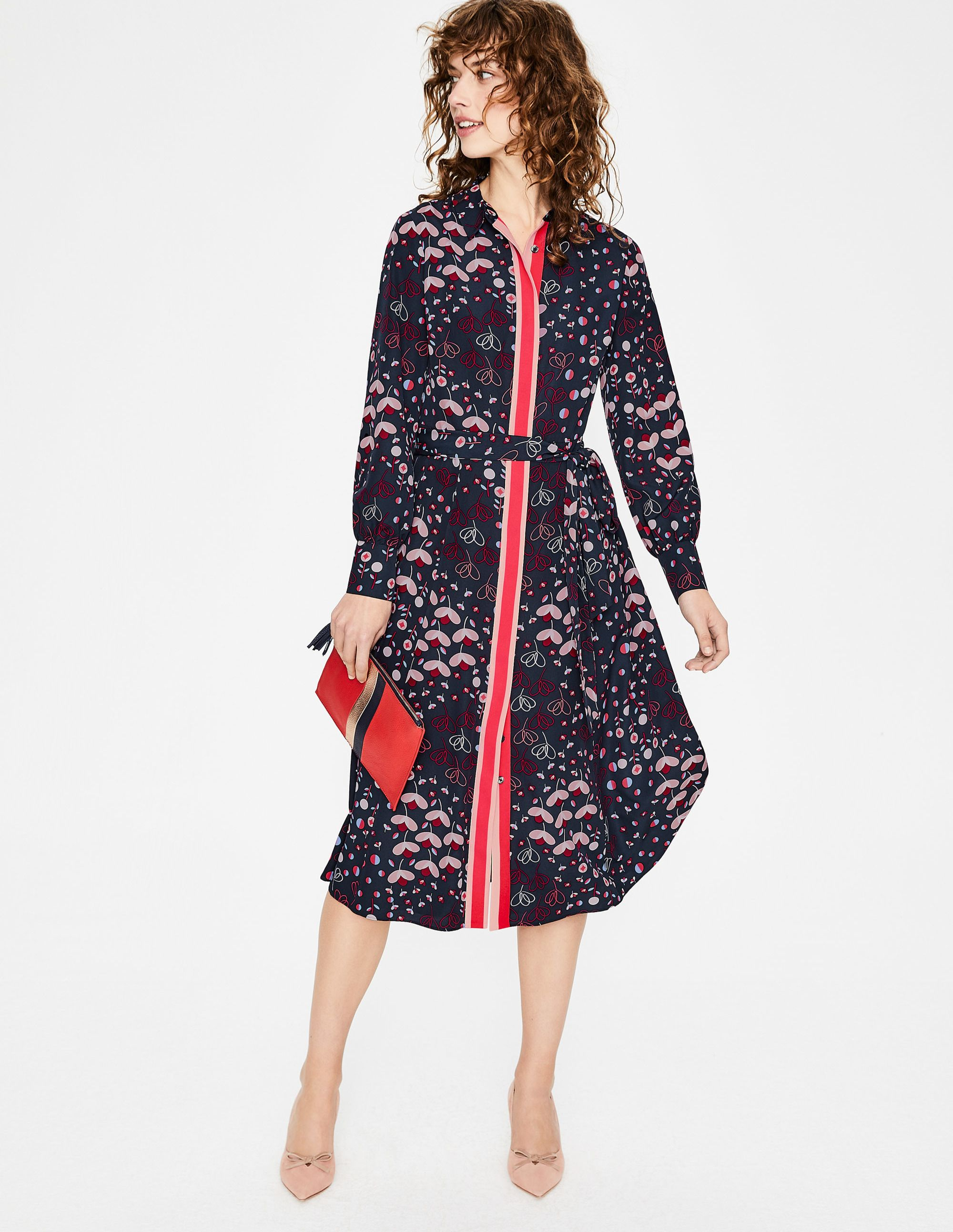 4ead64fe503 Pippa Shirt Dress W0182 Dresses at Boden