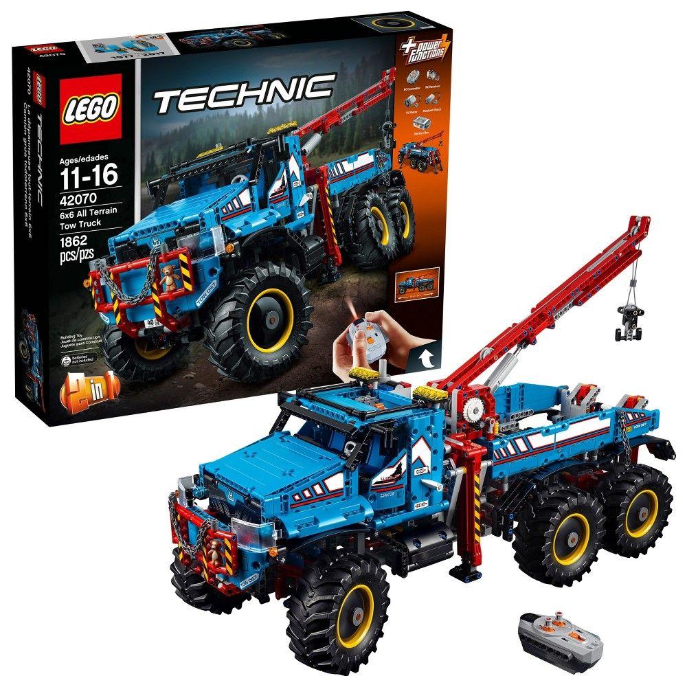 LEGO Black Construction Crane Tow Truck Hook Piece
