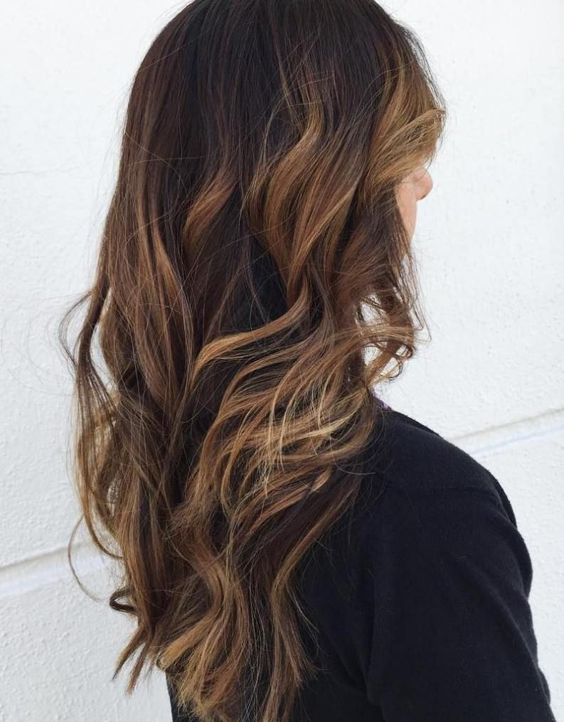 60 Hairstyles Featuring Dark Brown Hair With Highlights Brown Hair With Highlights Hair Highlights Brown Blonde Hair