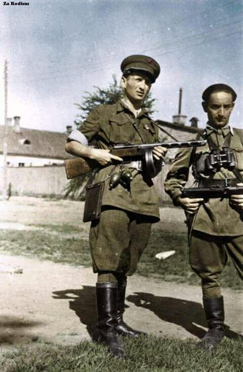 Sovietski partizáni .