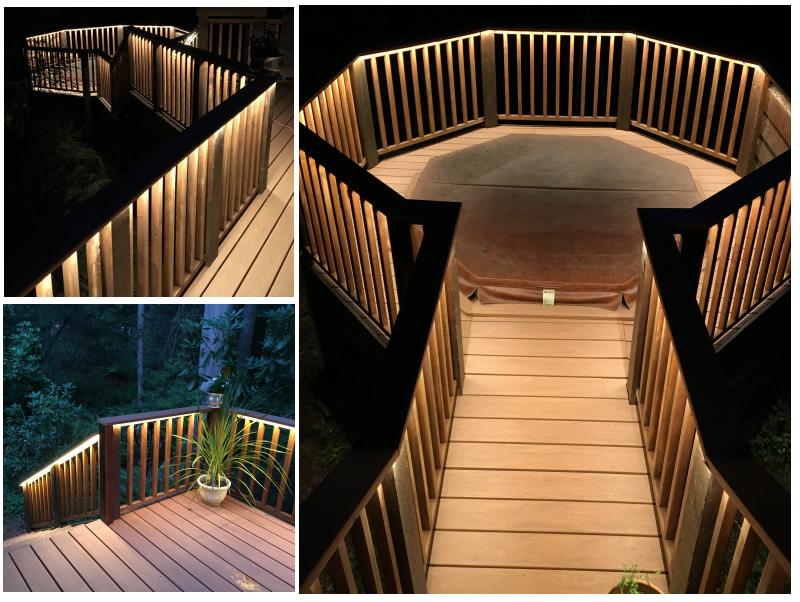 120v Led Light Strips Long Run Strips For Indoors And Out Outdoor Led Strips Outdoor Remodel Strip Lighting