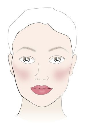 how to do makeup for a round face perfectly  round face