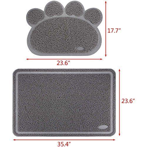 NEED Ollieroo Premium Free Cat Litter Mat Set Extra Large Tracking