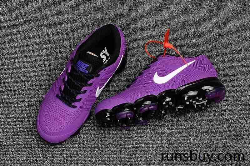 Nike Air VaporMax 2018 KPU Purple Black Women Shoes | Vol