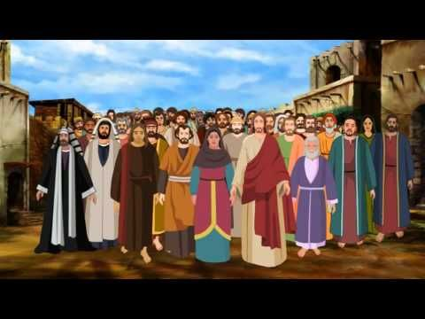 Bible stories for kids - Jesus heals a paralytic at the Pool of Bethesda ( English Cartoon ) - YouTube