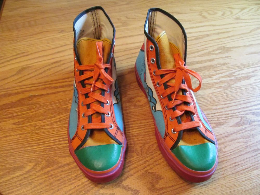 Peter Max High Top Tennis Shoes