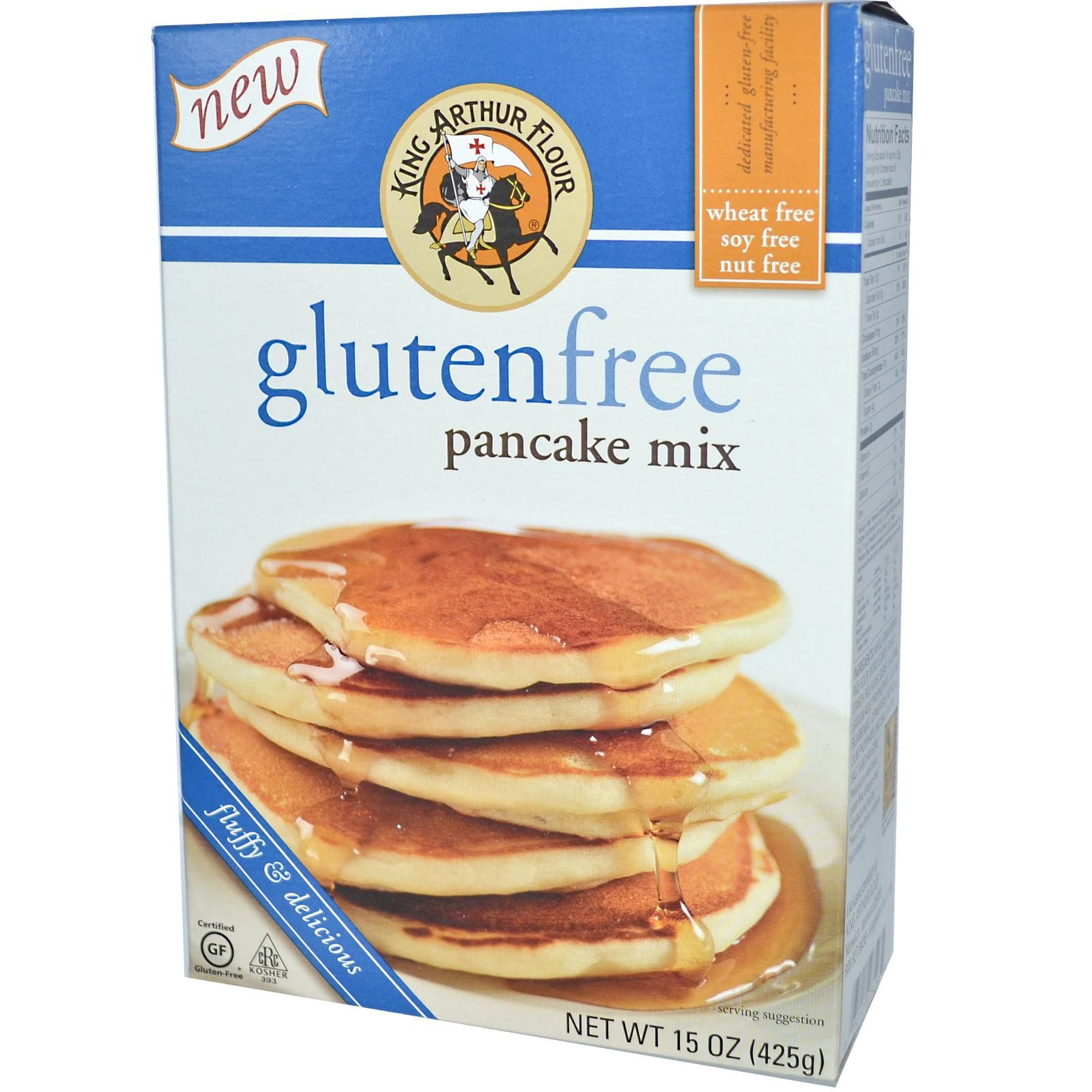 King arthur flour gluten free pancake mix 15 oz 425 g king king arthur flour gluten free pancake mix 15 oz 425 goo good just made these for breakfast ccuart Image collections