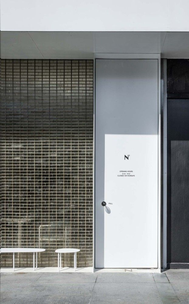 Gallery Of N Ypyc Architects 6 Architect Glass Brick Facade Design