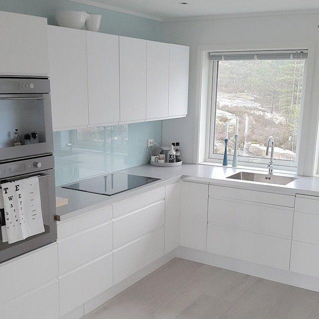 Cocinas blanca H o m e s Pinterest Cocina blanca, Blanco y Cocinas - Cocinas Integrales Blancas