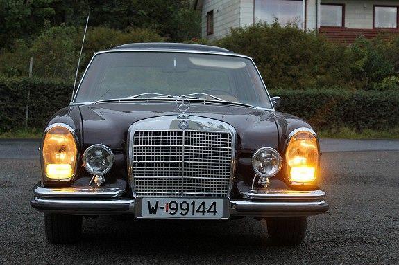 Mercedes-Benz 250SE 1967, 88 000 km, kr 35 000,-