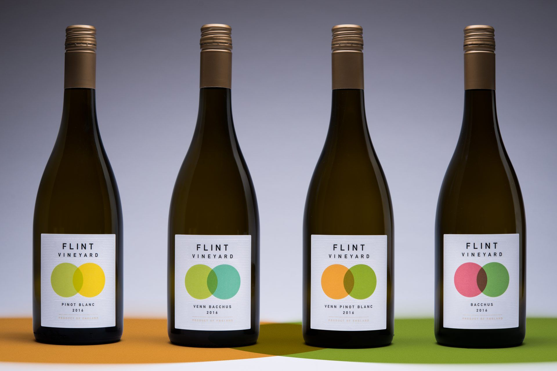 Flint Vineyard English Wine Labels Designed By Chrisbedsoncreative