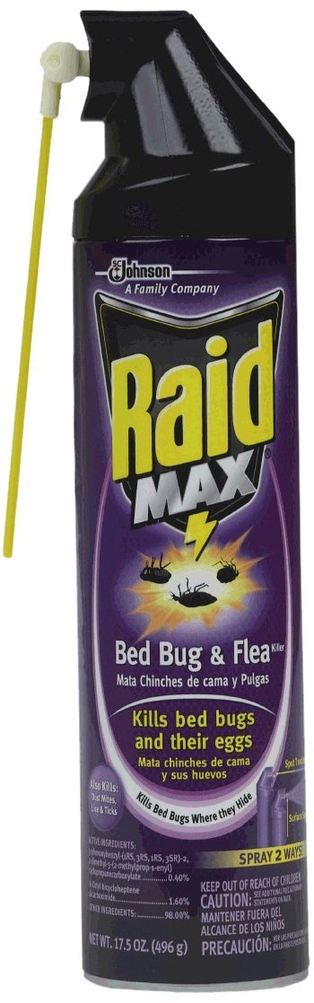 Raid Bed Bug Spray And Flea Killer Product Review Bed Bug Spray
