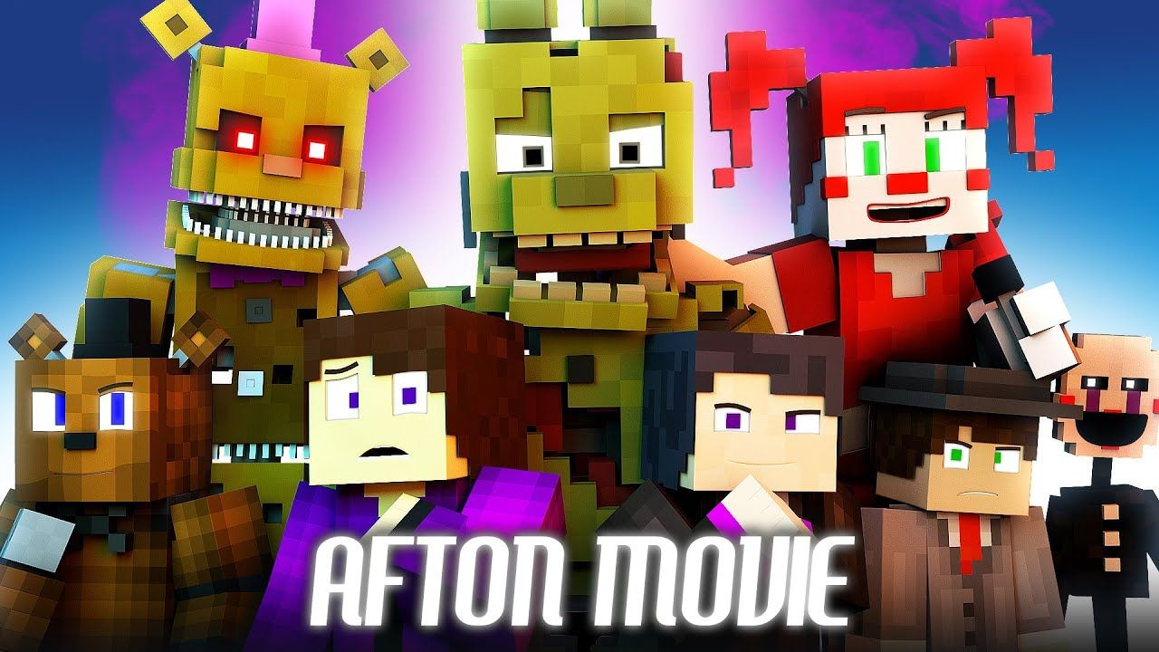 Afton Full Movie Fnaf Minecraft Music Video Series 3a Display Youtube Fnaf Minecraft Afton Fnaf