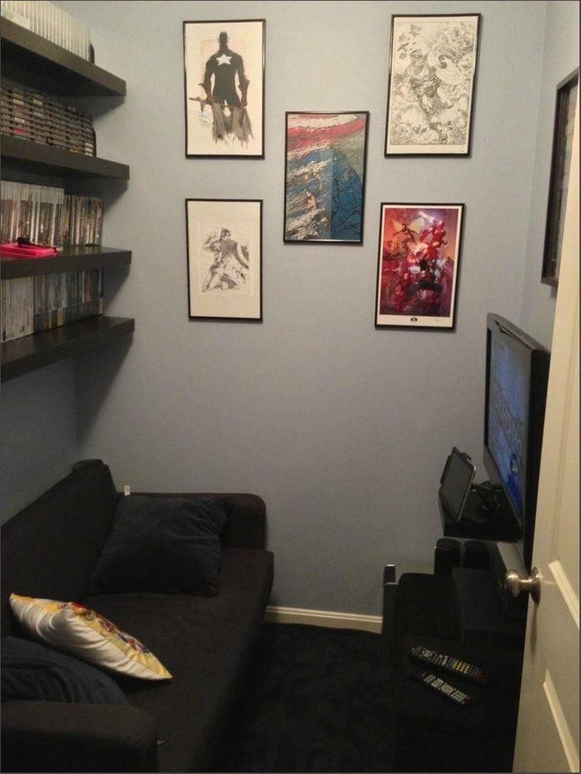 47 Impressive Video Game Room Decoration Suggestions Small Game