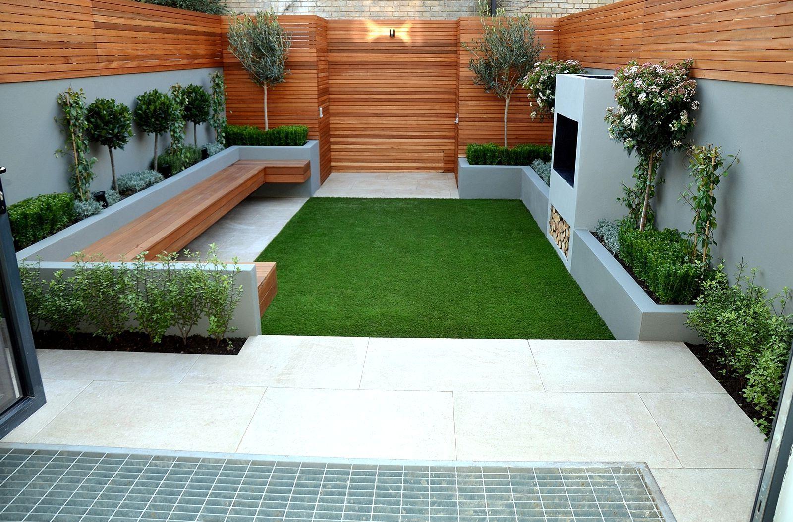 Small courtyard garden inspiration  Simple Small Garden Designs M The Garden Inspirations Small Garden