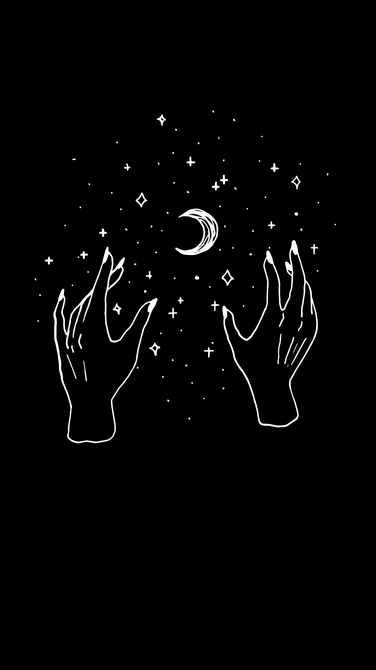 Something I Found Witchy Wallpaper Black Aesthetic Wallpaper Art