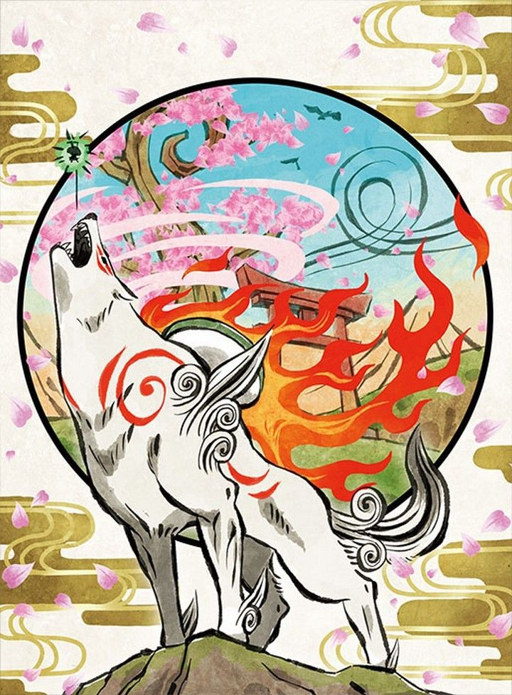 Okami Image By Linka Chan On Okami Amaterasu Game Art