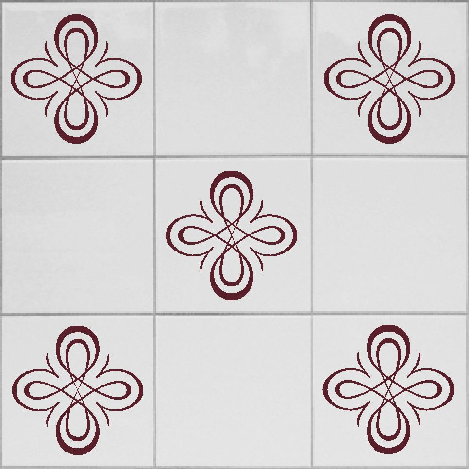 tile transfers stickers for shower bathroom or kitchen x 12 fit