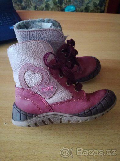 8c22eea7ad4 zimní boty Fare vel. 25 - 1