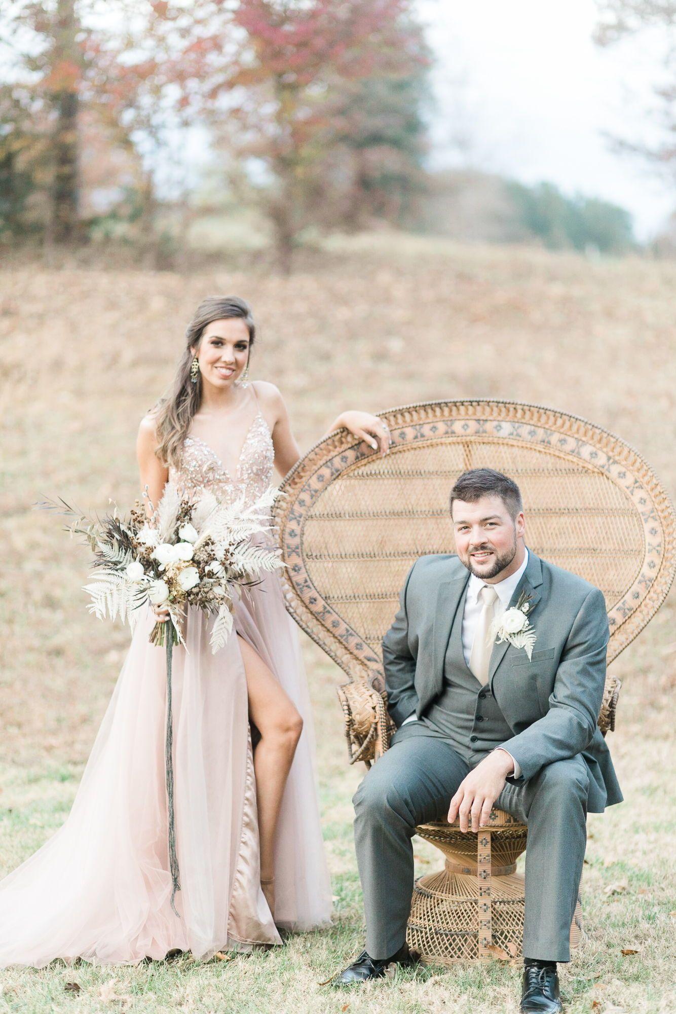 Modern Bohemian Wedding Inspiration at The Pointe at Lake Hickory ...