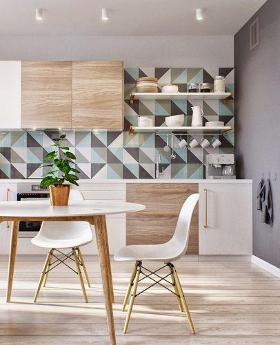 Inspiration déco petit appartement | Pinterest | Kitchens, Interiors ...