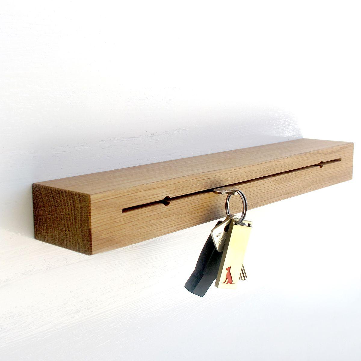 www.greatdanefurniture.com Slit Key Holder - Clever, slim line, wall mounted