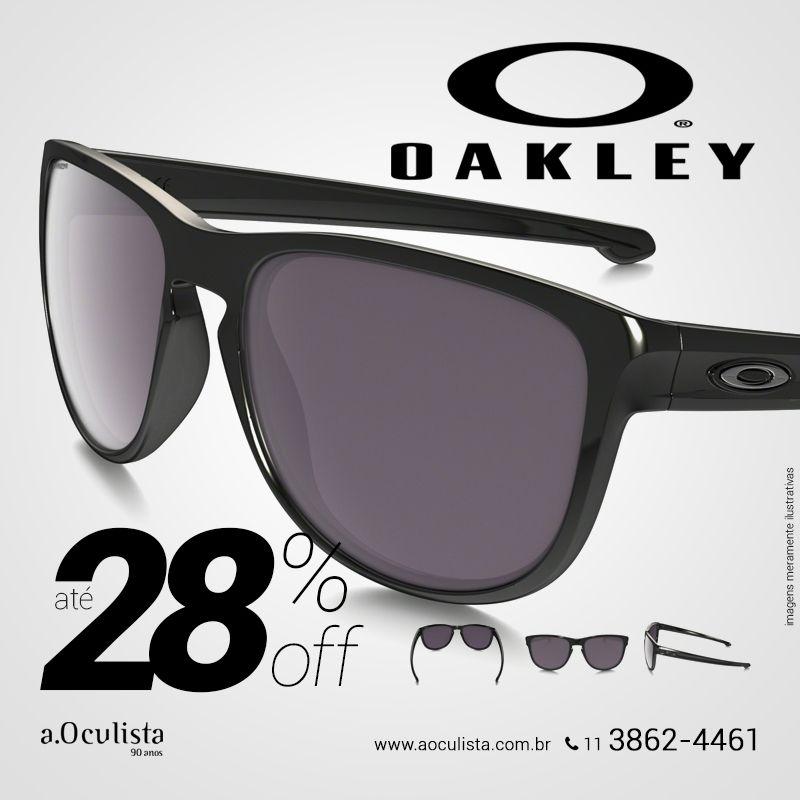 Toda linha  Oakley com até 28% com desconto Compre pelo site em até ... ecba3396c4