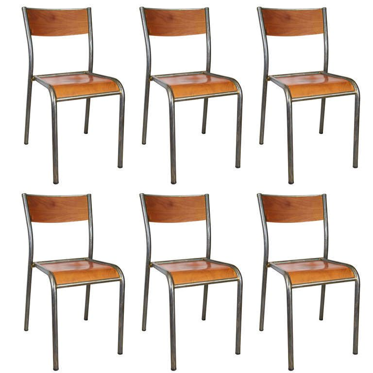 French Schoolhouse Chairs