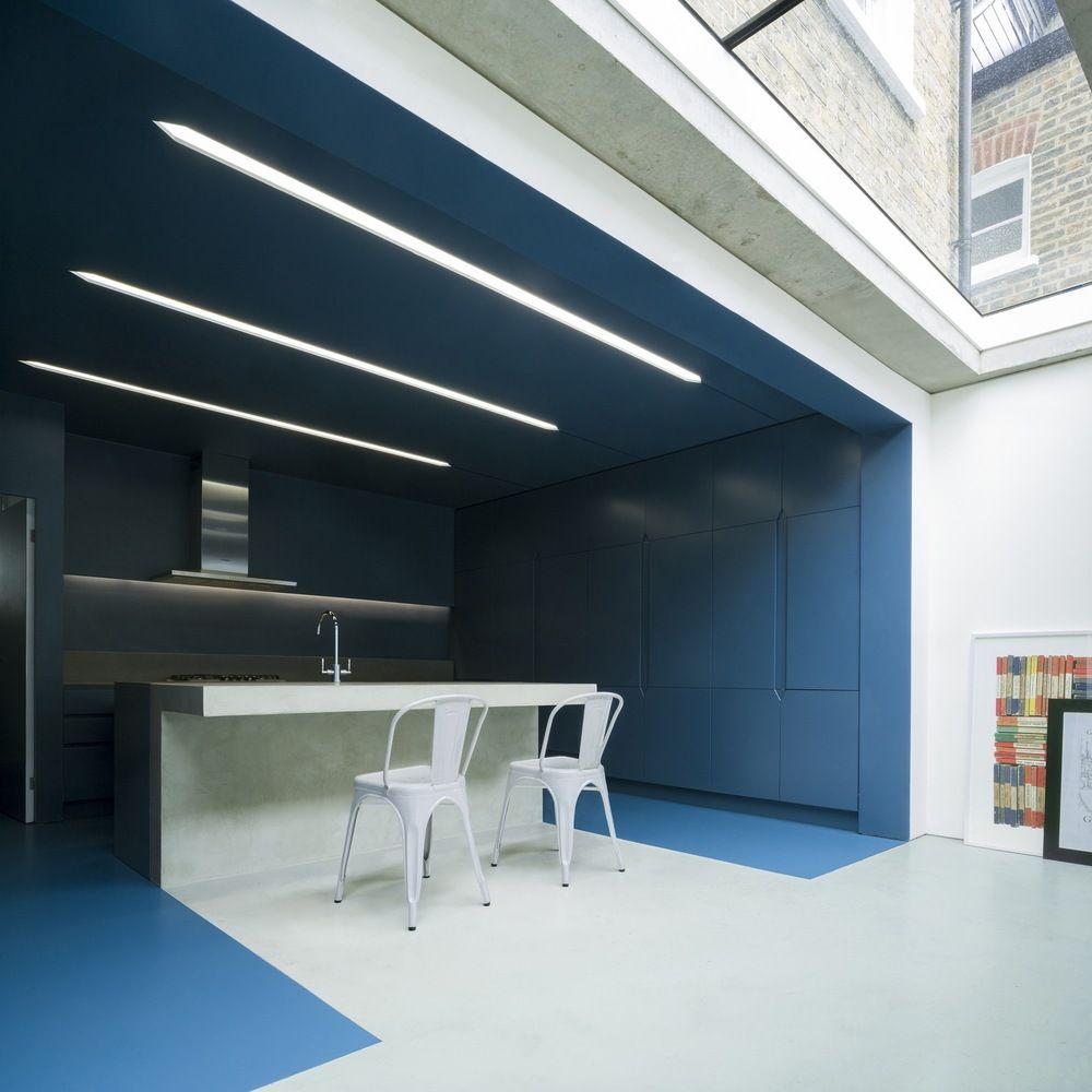Gallery Of Slab House Bureau De Change Architects 3 Concrete Interiors Ceiling Light Design Contemporary House