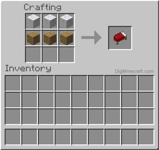 Crafting Recipe For Bed Minecraft Food Crafting Recipes