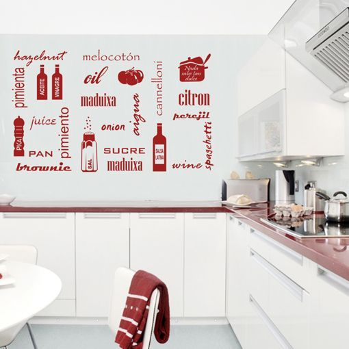 Vinilos para cocina buscar con google vinilos - Vinilos originales pared ...