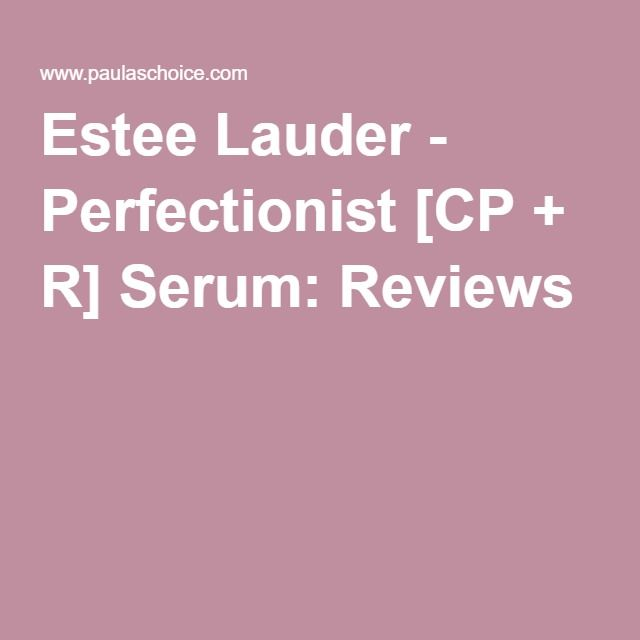 Perfectionist [CP+R] Wrinkle Lifting/Firming Serum by Estée Lauder #5