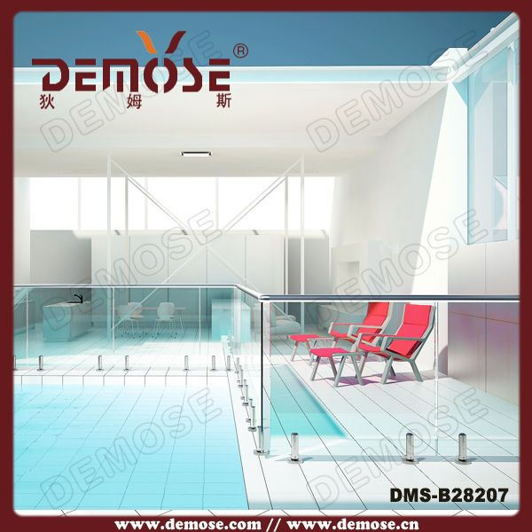 Tempered Glass Pool Fence Spigot Swimming Pool Glass Fence Front Yard Fence Backyard Fences Glass Pool Fencing