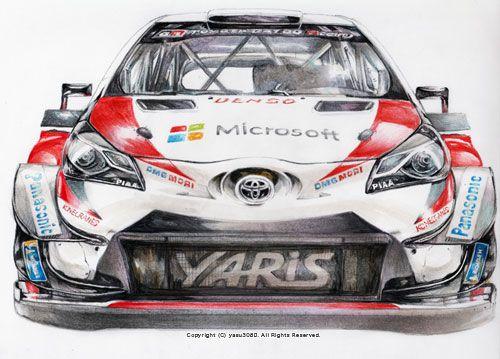 Toyota Yaris Wrc 2018 Wrc Rally Pinterest