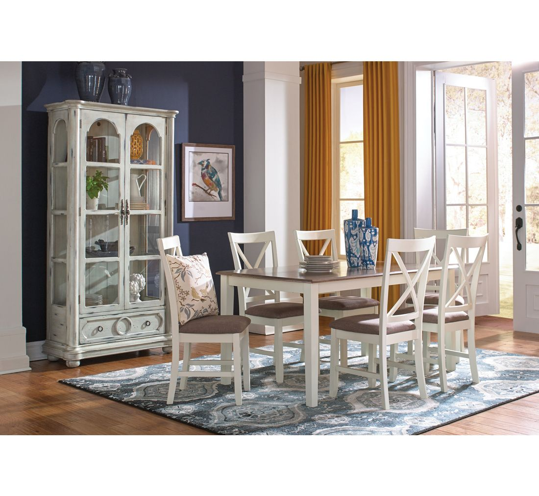 Donovan 5 Pc Dining Set  Badcock &more  Home Decor  Pinterest Alluring Badcock Furniture Dining Room Sets Inspiration Design