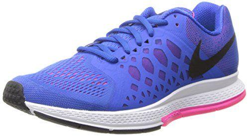 Nike Women's Zoom Pegasus 31 Hyper Cobalt/Black/Hyper Pink Running Shoe 7  Women US Nike