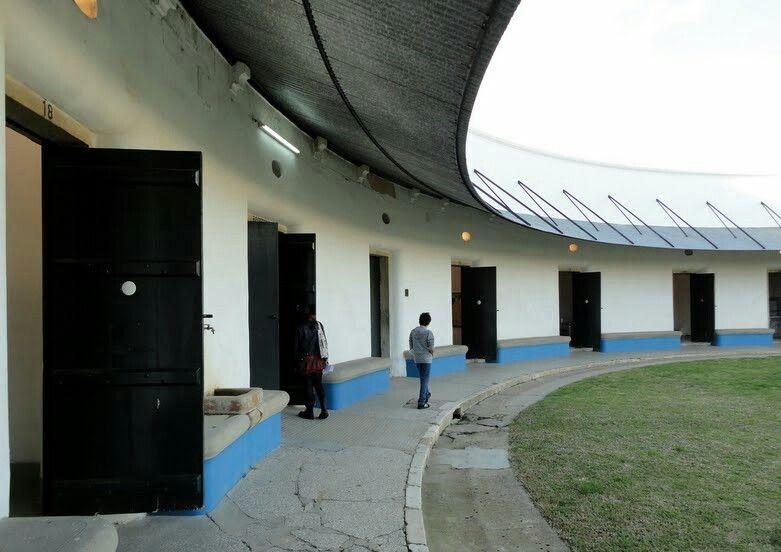 Pavilhão de Segurança do Hospital Miguel Bombarda, Lisboa, Portugal.