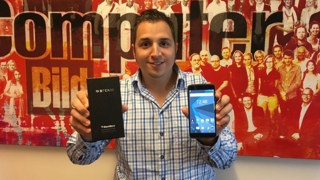 Blackberry DTEK50 im Test: Sicherster Androide  sicher?! - http://ift.tt/2aMmTUi