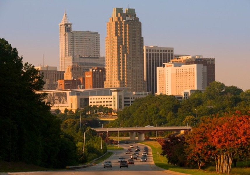 No. 1: Raleigh, NC, Metropolitan Statistical Area.  Fastest Growing City in the USA!!