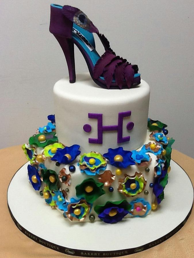 Custom Cake For Her From Duet Bakery Boutique Brooklyn NY